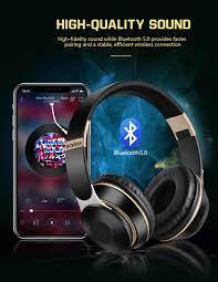 Tai Nghe Bluetooth Thẻ TF Hỗ Trợ Âm Thanh Nổi Bass Không Dây Thể Thao, Có  Micro, Tai Nghe Tốt Nhất Cho Điện Thoại Máy Tính
