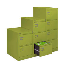 Green File Cabinet Silverline Executive 3 Drawer Filing Cabinet Red