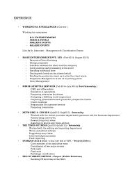 Typical Resume Free Resume Examples By Industry Job Title