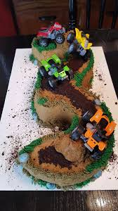 Three Year Old Cake With Four Wheelers Deer Run Cake Creations