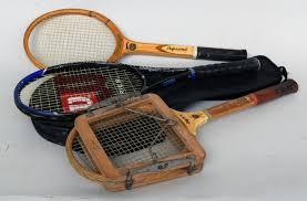 a vintage wooden slazenger jupiter tennis racket