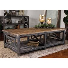 modern coffee tables rustic reclaimed wood coffee table shades light distressed black natural with gray glaze for living square set small tables room