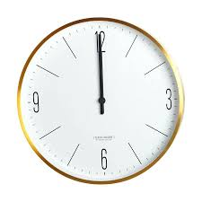 minimalist wall clock clocks uk