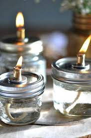 mason jar oil lamp how to make mason jar oil lamps via life is a party mason jar oil lamp miniature mason jar citronella