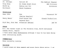 Resume Beautiful Idea What Should Be On A Resume 13 My Hollywood