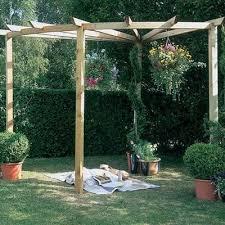 forest corner wooden radial garden