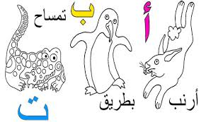 Latin letters in all english alphabet for coloring decorated with little stars. Free Printable Arabic Alphabet Coloring Pages Pdf بالعربي نتعلم