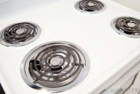 stove heating element. nichrome wire is often found tightly coiled in the tubular heating elements of electric stove tops. element