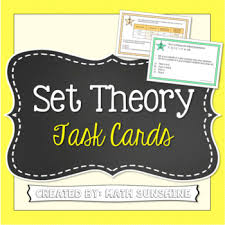 A Complement Venn Diagram Set Theory With Venn Diagrams Task Cards Activity And Or And Complement