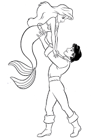 Small Picture Princess Ariel Prince Eric Coloring Pages Coloring pages