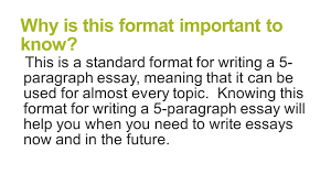 5 paragraph essay layout paragraph essay structure brought to you by powerpointpros com why is this format important to know