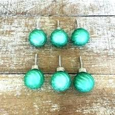beach glass drawer pulls sea knobs 6 green cabinet24 cabinet