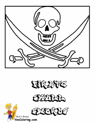 High Seas Pirate Ship Coloring Pages | Pirate Ship | Free | Pirate ...