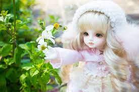 Hình ảnh búp bê dễ thương, cute, đẹp nhất dành cho bạn gái