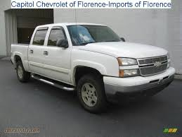 2006 Chevrolet Silverado 1500 Z71 Crew Cab 4x4 in Summit White ...