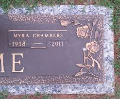 Myra Nell Chambers Hume (1918-2011) - Find A Grave Memorial