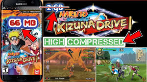 66 mb naruto shippuden kizuna drive highly pressed game for android