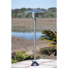 output stainless patio heater: fire sense  btu stainless steel natural gas patio heater  the home depot