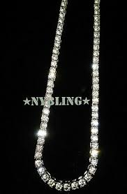 14K GOLD SILVER IP Tennis Chain Choker 5mm VVS Lab Diamond Hip Hop ICED  Necklace - $15.99 | PicClick