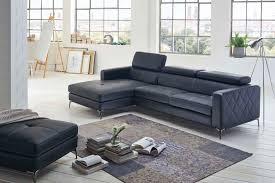 Sale Sofa Couch Ecksofa Anthrazit Ottomane Links 300 X 132