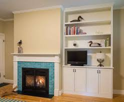 minimalist image of living room decoration using built in fireplace outstanding image of living room