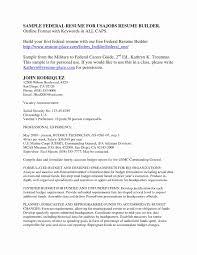 Dod Resume Template Dod Resume format Fresh Dod Resume format Beautiful Resume format 9