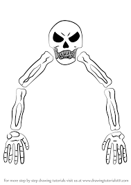how to draw skeletron from terraria