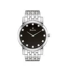bulova mens diamond watch 96d106 market cross jewellers mens diamond watch 96d106