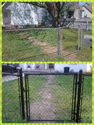 painting chain link fence best 25 fencing ideas on