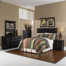 Cambridge Southampton 5 Piece Dark Pecan Twin Bed Headboard, Dresser,  Mirror, Chest