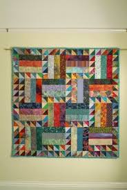 Rainbow Rail Fence Quilt Tutorial | Rail fence quilt, Rail fence ... & Zig Zag Rail Fence, with Flying Geese. Project from Scrap Quilts for Babies  and Adamdwight.com