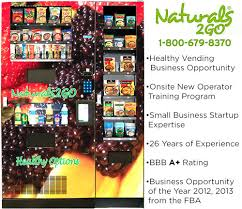 Vending Machine Business Opportunities Mesmerizing Healthy Vending Business Naturals 48 Go Receives Business Opportunity