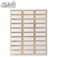 Labels With Border Gold Border Address Labels Hobby Lobby 1183664