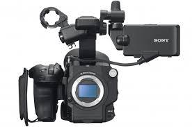 sony fs5. sony fs5 front no lens fs5