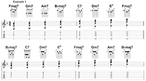Jazz Chord Progression Chart Jazz Chords The 3 Levels You Need To Know Jens Larsen