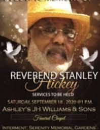 Rev. Stanley A. Hickey III Obituary - Selma, Alabama , Ashley's ...