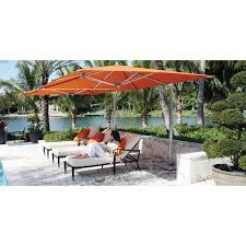 ocean master max single cantilever square umbrella