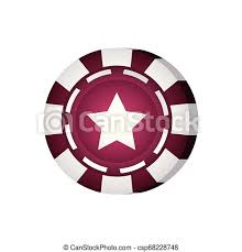 Casino poker chip gamble icon vector illustration.   CanStock