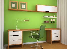 good color for office. Fresh And Cool Green Good Color For Office