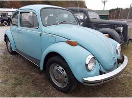 Light Blue Beetle For Sale 1972 Volkswagen Beetle For Sale Classiccars Com Cc 931920