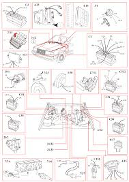 volvo 940 1993 wiring diagrams rex i distributor ignition di system b 230 f