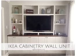 my favourite part of our whole space is our wall unit