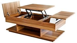 walnut lift top coffee table storage