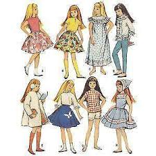 Doll Clothes Patterns Cool Doll Clothes Patterns EBay