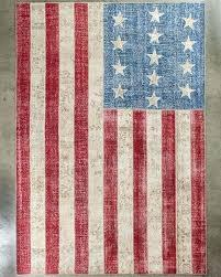 american flag area rug