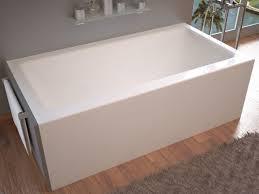 avano av3060shr white sahara 60 acrylic soaking bathtub for alcove installations with right drain faucet com