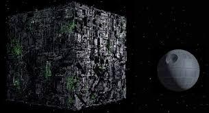 death star size image borg cube vs death star jpg lsw creations wiki fandom