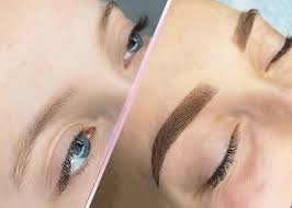 перманентный макияж пудровые брови акварельные губы межресничка