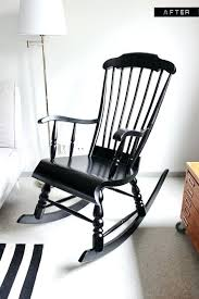 black wooden rocking chair a nursery wooden rocking chair makeover with paint so do this with black wooden rocking chair