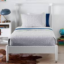 dwell studio furniture. Mid-Century Twin Bed In French White Dwell Studio Furniture I
